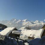 Cazaux-Frechet en neigé